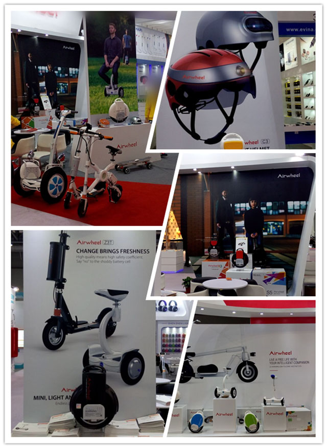 Airwheel auto-equilíbrio scooter