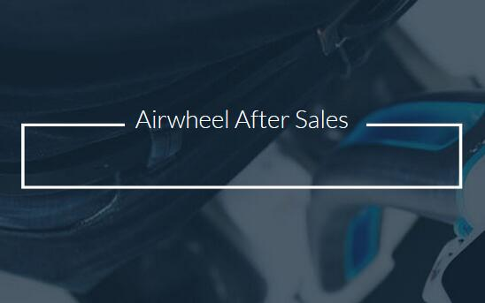Airwheel aftersales