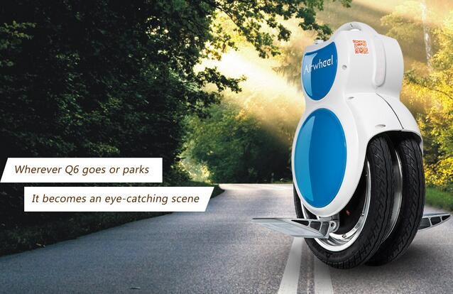 One of its original innovation is the Airwheel Q series—twin-wheeled electric scooter.