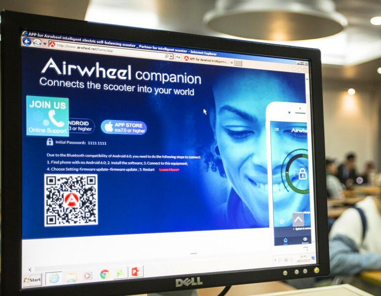 Airwheel as a global-known brand.