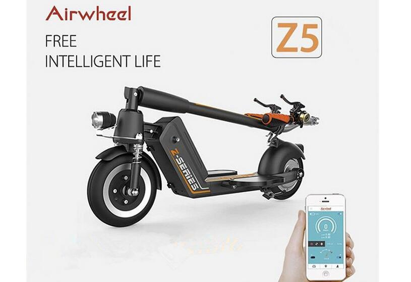 Airwheel Z5 standing up electric scooter is one of exemplars.