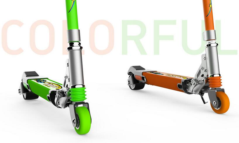 Airwheel Z8 is easy to fold by lifting and pulling with the innovative foldable handle design.