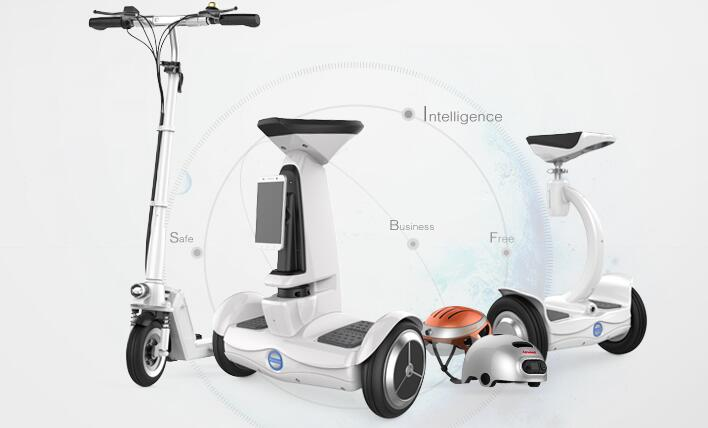 Airwheel latest products on CeBIT 2016 certainly satisfies a craving