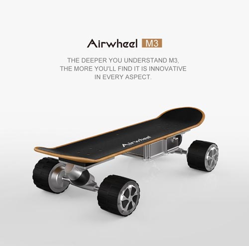 Airwheel M3, intelligent self-balancing scooter