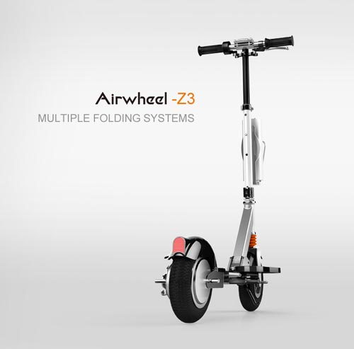 Airwheel Z3, self-balancing scooters
