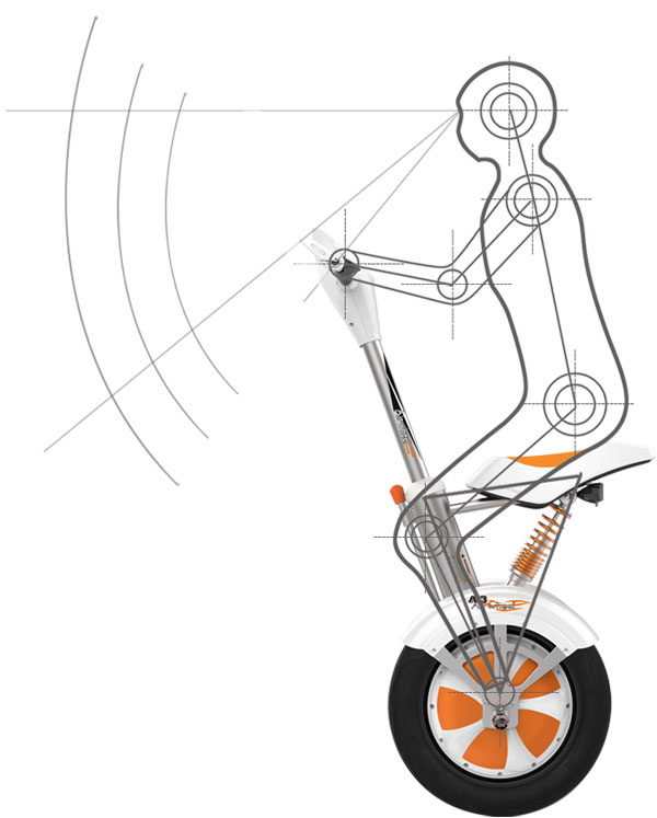 Airwheel A3 scooter monociclo