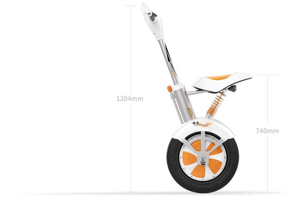 Airwheel A3 scooter eléctrico de dos ruedas