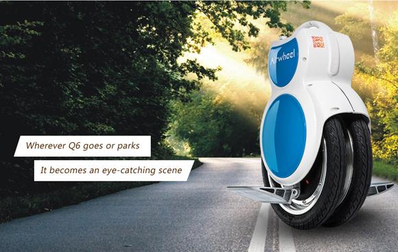 Airwheel Q6, dos ruedas eléctrico