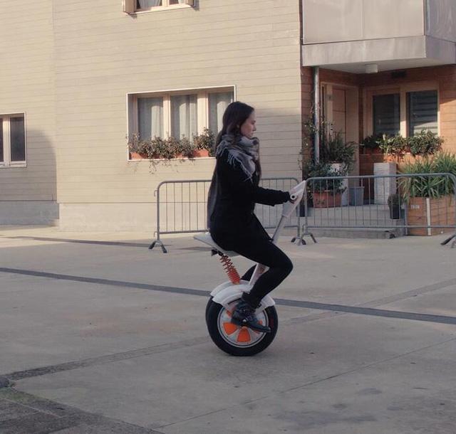 A3 auto equilibrio eléctrico monociclo